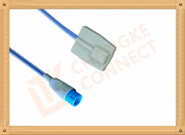 Quality BIOLIGHT Spo2 Probe Sensor 12  Pin Reusable SpO2 Sensor Pediatric for sale