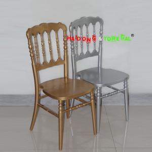 China Wholesale Cheap China Solid Wood Wedding Hotel Wood Napoleon Chair wholesale