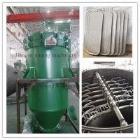 China Automatic Discharge Pressure Vertical Leaf Filter Press Equipment  High Efficiency wholesale