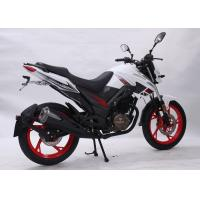 China 110 KG Dry Weight 125cc Road Bike , Street Sport Motorcycles 14L Capacity Fuel Tank wholesale