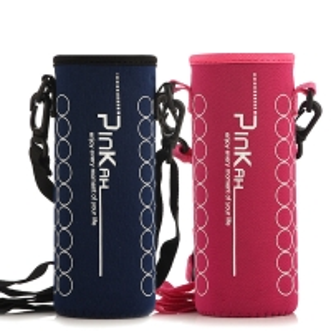China Lanyard Neoprene Water Bottle Sleeve For Outdoor Sports wholesale