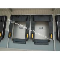 China Commercial PVC Doors With Folding Rubber Seal For Logistic Unloading Platform Use on sale