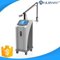 China 40W 10600nm Glass pipe Skin resurfacing Fractional CO2 Laser machine wholesale