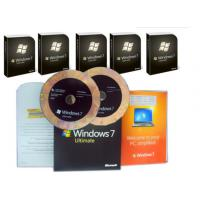 China Microsoft Windows 7 Ultimate Edition , Windows 7 Ultimate OEM Pack For Global Area on sale