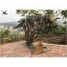 China Pachycephalosaur Robotic Dinosaur Garden Ornaments Soft And Smooth Surface Treatment wholesale