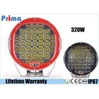 China Round 9 Inch Driving Lights, 320W Shatterproof Led Off Road Lights wholesale