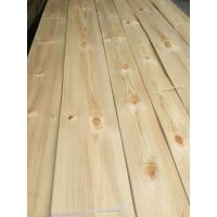 China Knotty Pine Decorative Veneers Knotty Pine Natural Veneers for Furniture Doors and Plywood Industry wholesale