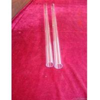 Transparent Fused Quartz Tube
