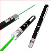 China 532nm 200mw green laser pointer green laser pen green laser beam light with five caps on sale