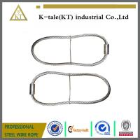China 7*7 6.0mm Pressed Galvanized Steel Cable Sling wholesale