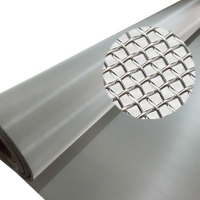 China 30m Filter 150 Micron 0.5mm Stainless Steel Wire Cloth on sale
