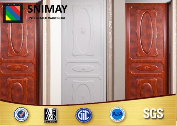 Quality European Floor To Ceiling Sliding Closet Doors Wooden Wardrobe Doors for sale