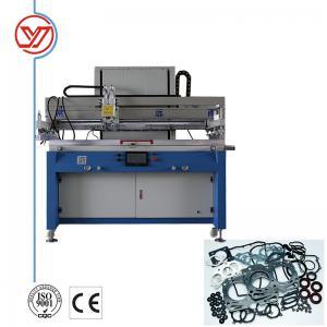 China High Precision Flatbed Screen Printing Machine / Head Gasket Screen Printing Press wholesale