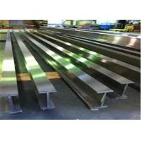 China Silver Color I Beam Steel Q275 20Mnk Material For Multifunctional Supporting wholesale