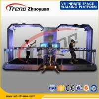 China Indoor Multi Directional Virtual Reality Gaming Treadmill For Shopping Mall wholesale