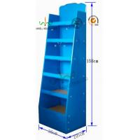 China Dual Function Cardboard Counter Display Stands , Cardboard Floor Display Stands wholesale