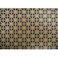 China Attractive Design Decorative Perforated Metal Long Service Life Acid Resistant wholesale
