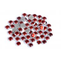 China Flatback Loose Rimmed Rhinestones High Color Accuracy With Shinning Facets wholesale