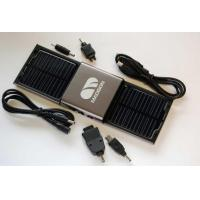 China High Capacity Lithium Battery Portable Solar powered Mobile Phone Charger With Solar Panel on sale
