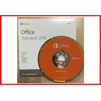 Buy cheap Genuine Microsoft Office 2016 Professional Retailbox DVD + Key card from wholesalers