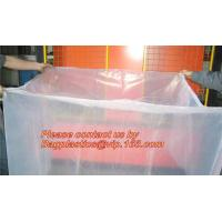 clear plastic flat bottom bag pallet cover proof dust cover furniture cover