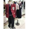 China Custom Shirt Vest Blazer Skirts Sports Design Formal University  Primary High School Uniform For Teacher Children's Kids wholesale