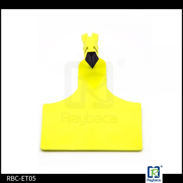 Quality UHF Cattle Tracking Chip One Side Cattle Identification Tags 61mm Diameter for sale