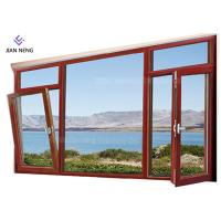 China Customized Modern Aluminum Windows , Windproof Custom Made Aluminium Windows wholesale