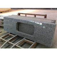 China 1800 X 600mm Prefabricated Slab Granite Countertops With Sink Hole wholesale