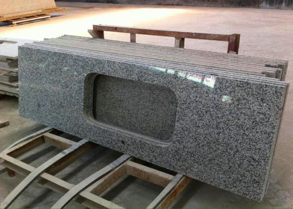Quality 1800 X 600mm Prefabricated Slab Granite Countertops With Sink Hole for sale