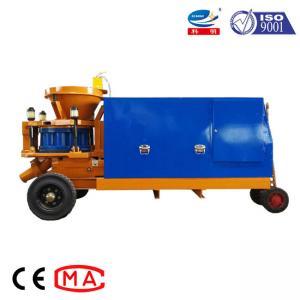 China Diesel Type Portable Shotcrete Machine Concrete Spray Machine 0.6mpa Pressure on sale