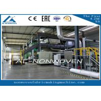 Buy cheap AL-1600SSS PP Spun Bonded Nonwoven Fabric Production line / PP NON WOVEN Fabric Making Machine from wholesalers
