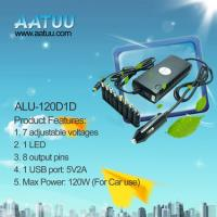 China DC 120W Universal Laptop Power Adapter for Car use -ALU-120D1D wholesale