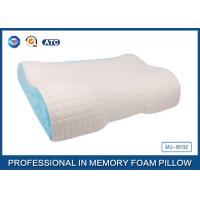 Different Height  Wave Memory Foam Contour Pillow with Deluxe Comfort Pillow Cover