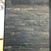 China No Toxicity Black Slate Wall Stone Cladding Corrosion And Wear Resistance wholesale