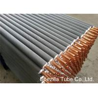 China 11 FPI Extruded Fin Tube / Heat Exchanger Finned Tube 25000MM Length wholesale