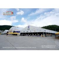 China Waterproof Polygon White PVC Event Tent With 20 Years Lifespan wholesale
