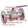 China flanged ball valve(3pc) wholesale