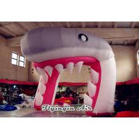 China Cute Inflatable Shark Arch, Inflatable Channel, Inflatable Tunnel for Sale wholesale