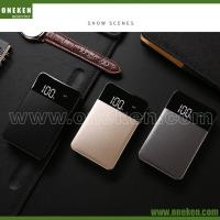 China 10000mAh Power Bank LED Display , Metal Case Power Bank For Mobile Phones wholesale