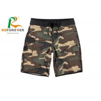 China China Supplier Camo Shorts with Pocket Cargo Board Shorts Zipper with Drawstring wholesale