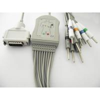China 12 Lead EKG ECG Patient Cable IEC For Autocardiner, Cardimax wholesale