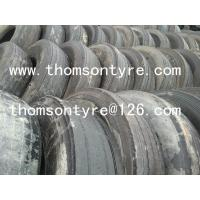China used truck tire casings, 11R22.5, 12R22.5, 295/80R22.5, 315/80R22.5... wholesale