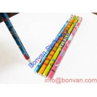 China water drawing pencil,art drawing wooden pencil,printed water color gift pencil wholesale