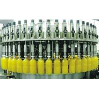 China Carbonated Soft Drink Filling Machine , Aluminum Tin Can Gas Beverage Production Line wholesale