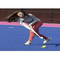 China Green / Blue / Red Hockey Artificial Turf Synthetic Grass High Elasticity wholesale