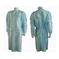 China Lightweight Non Woven Disposable Isolation Gowns Protection Universal Eco Friendly on sale