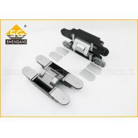 China GB Zinc Alloy 180 Degree Adjustable Concealed Hinges For Front Doors Uk on sale