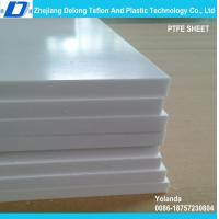 Buy cheap PTFE molded sheet 150mm electric insulation self lubrication from wholesalers