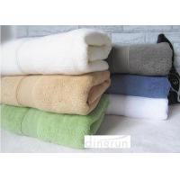 China Plain Color Fadeless Thickening Personalized Bath Towel 70x140cm Double - Sided Terry wholesale